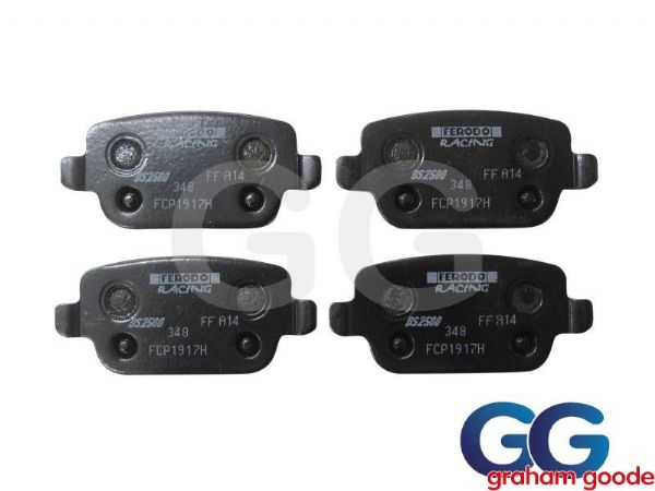 Ford Focus RS MK2 Rear Ferodo DS2500 Brake Pads FCP1917H